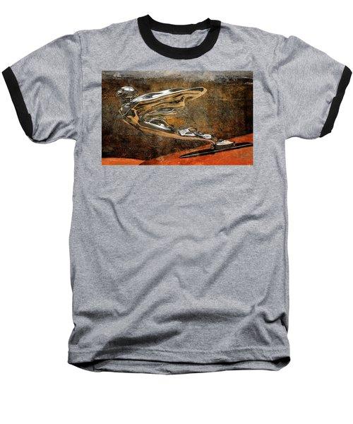 Baseball T-Shirt featuring the digital art Flying Erol by Greg Sharpe