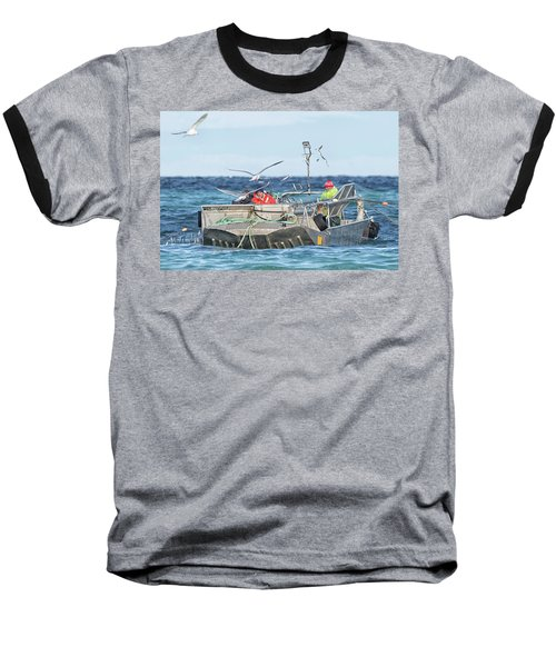 Baseball T-Shirt featuring the photograph Flying Fish by Randy Hall
