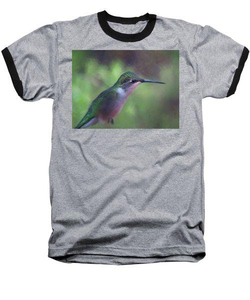Flying Flower Baseball T-Shirt