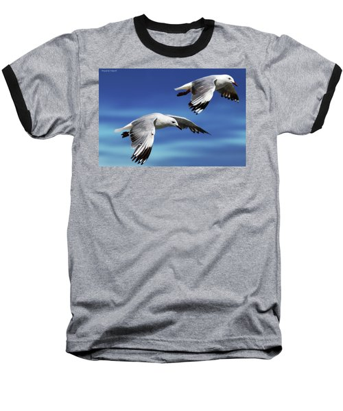 Flying High 0064 Baseball T-Shirt