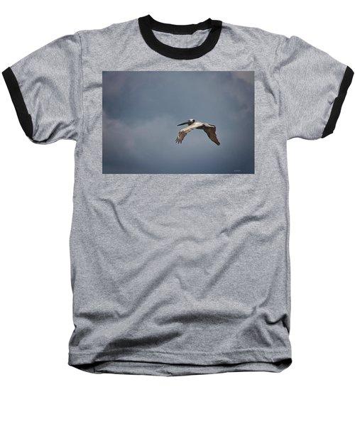 Flying High Baseball T-Shirt by Phil Mancuso