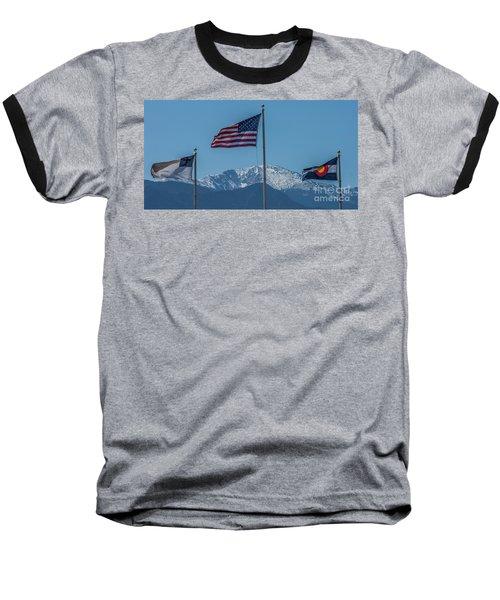 America The Beautiful Baseball T-Shirt