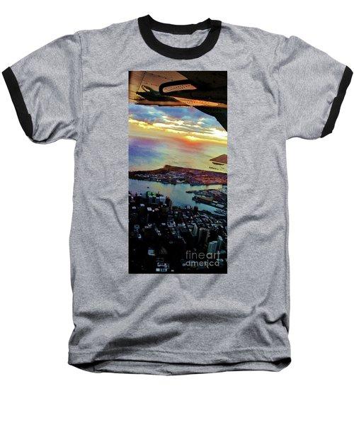 Flying Into Honolulu II Baseball T-Shirt by Craig Wood