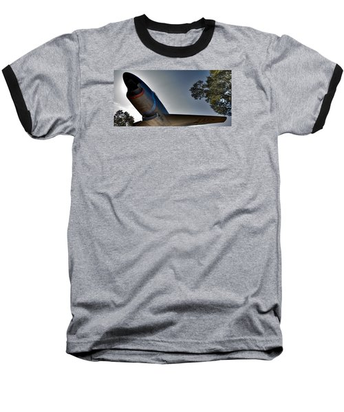 Flying Low Baseball T-Shirt