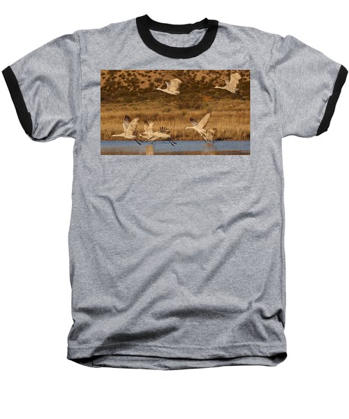 Flying Out Baseball T-Shirt