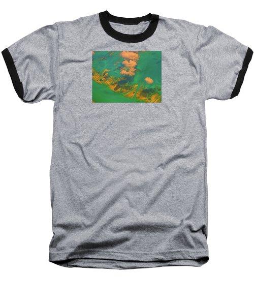 Flying Over The Keys, Florida Baseball T-Shirt