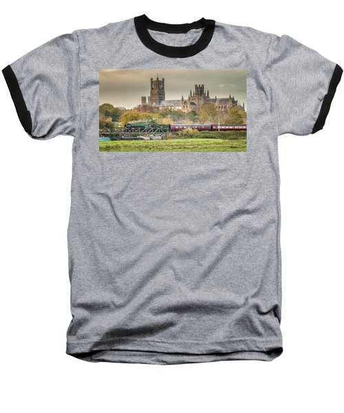 Flying Scotsman At Ely Baseball T-Shirt