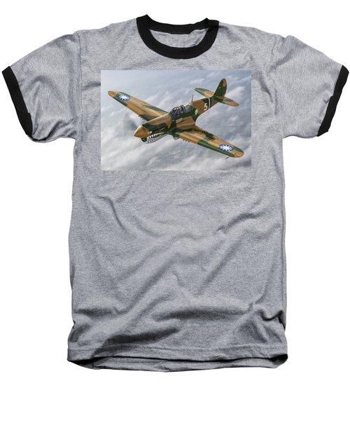 Flying Tiger Baseball T-Shirt