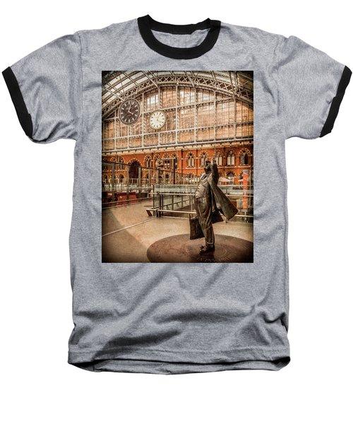 London, England - Flying Time Baseball T-Shirt