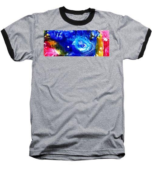 Focal Epilepsy Baseball T-Shirt by Sir Josef - Social Critic -  Maha Art