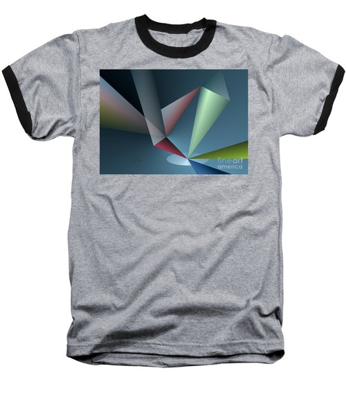 Focus Baseball T-Shirt by Leo Symon