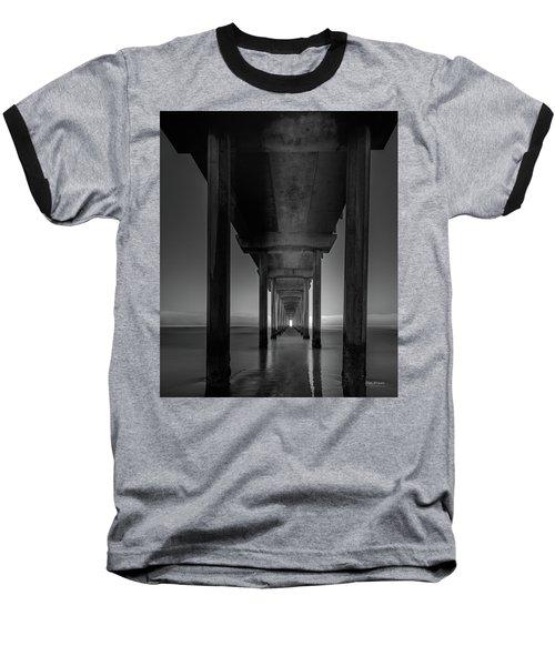 Fog Bank At Dawn Baseball T-Shirt
