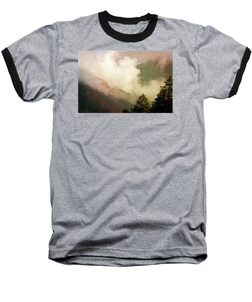 Fog Competes With Sun Baseball T-Shirt by AugenWerk Susann Serfezi