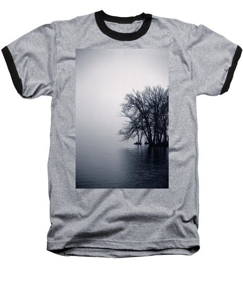 Fog Day Afternoon Baseball T-Shirt