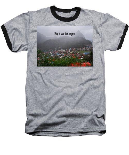 Fog Baseball T-Shirt
