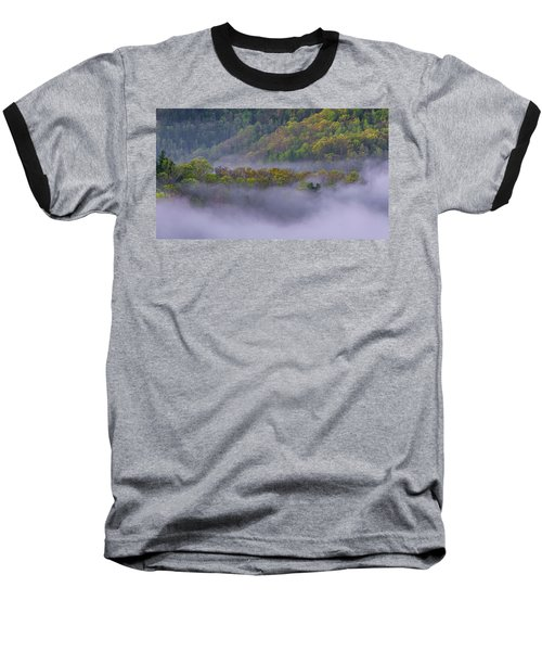 Fog In The Hills Baseball T-Shirt