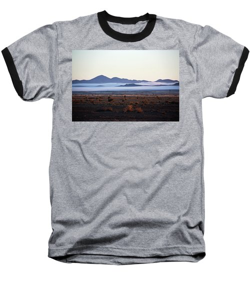 Fog In The Peloncillo Mountains Baseball T-Shirt