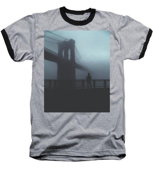 Fog Life  Baseball T-Shirt by Anthony Fields
