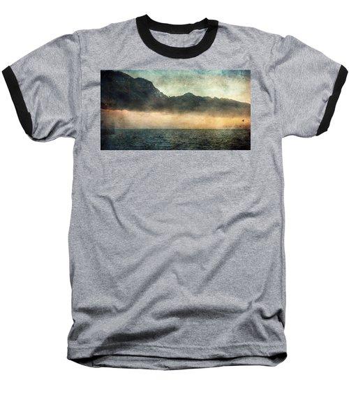 Fog On Garda Lake Baseball T-Shirt