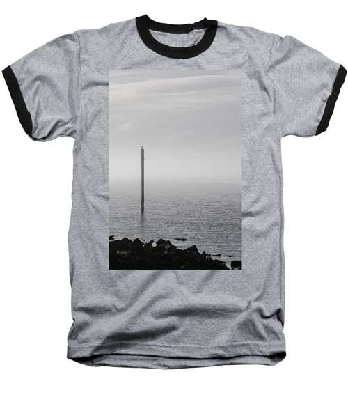 Fog On The Cape Fear River On Christmas Day 2015 Baseball T-Shirt