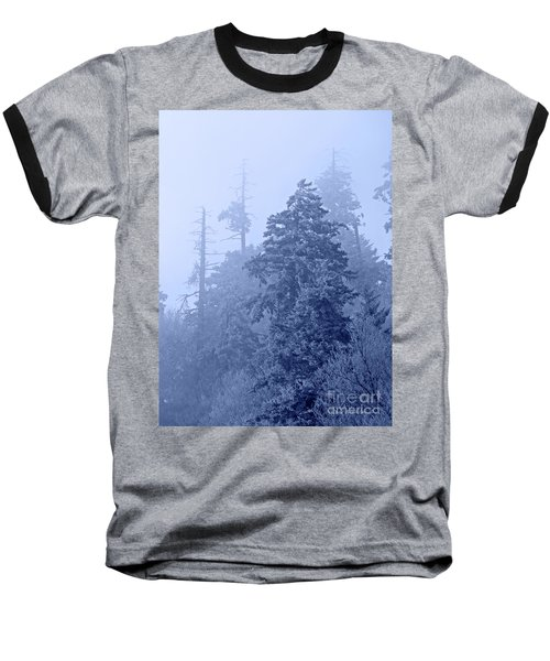 Baseball T-Shirt featuring the photograph Fog On The Mountain by John Stephens