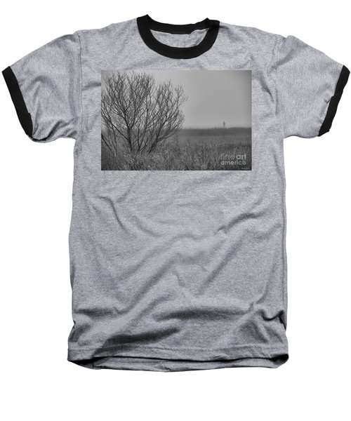 Baseball T-Shirt featuring the photograph The Fog Of History by Phil Mancuso