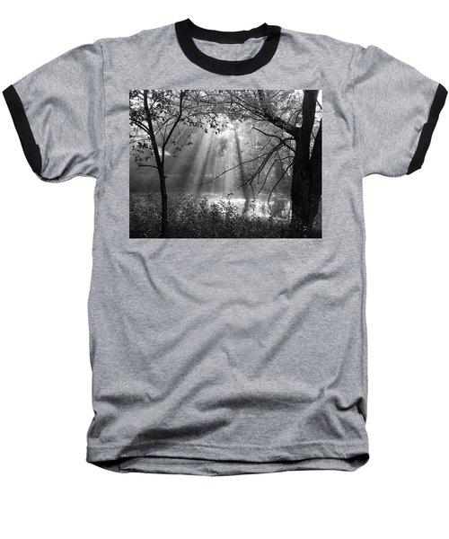 Fog Rays Baseball T-Shirt