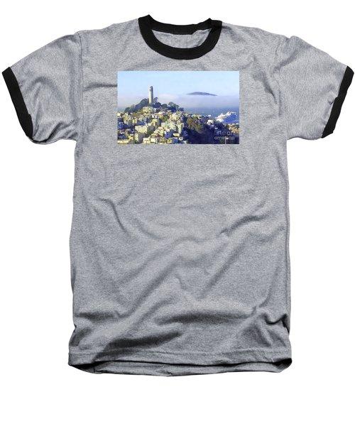Fog Rolling In Baseball T-Shirt