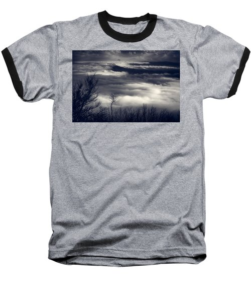 Fog Wave Baseball T-Shirt