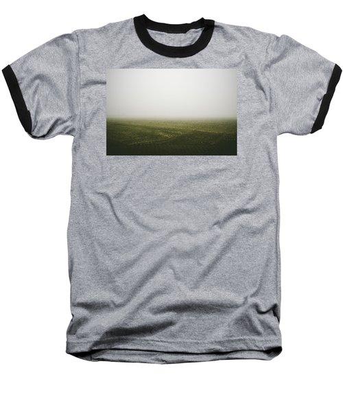 Foggy Autumn Morning Baseball T-Shirt by Cesare Bargiggia