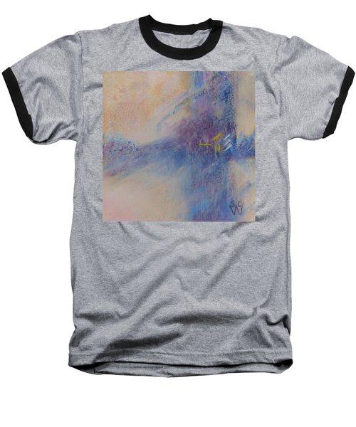 Foggy Crossroad Baseball T-Shirt