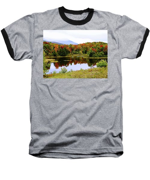 Foggy Day In Vermont Baseball T-Shirt by Joseph Hendrix