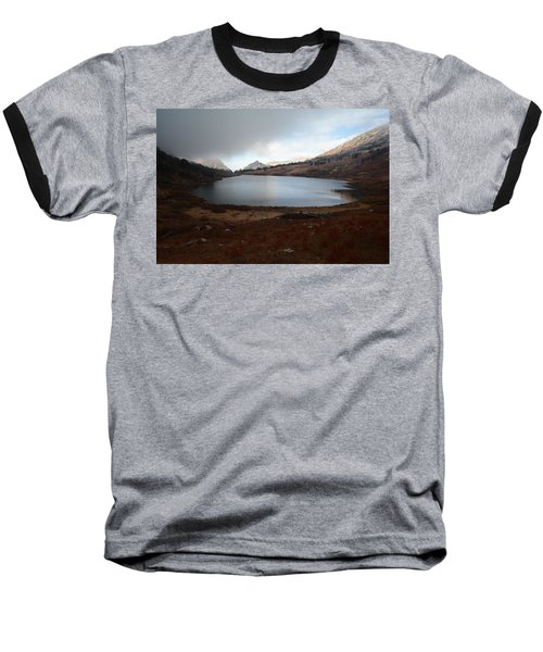 Baseball T-Shirt featuring the photograph Foggy Favre Lake by Jenessa Rahn