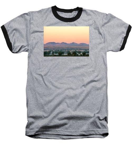 Foggy Harlem Bottom Baseball T-Shirt