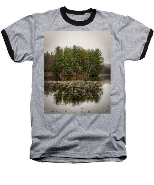 Foggy Island Reflections Baseball T-Shirt