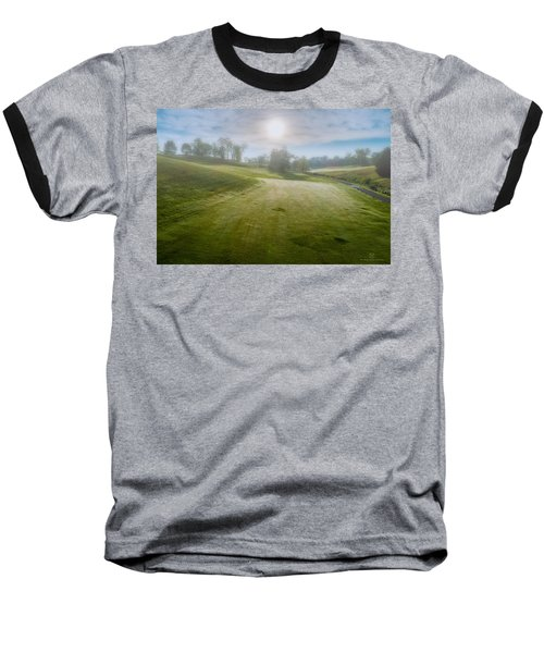 Foggy Look Back Baseball T-Shirt