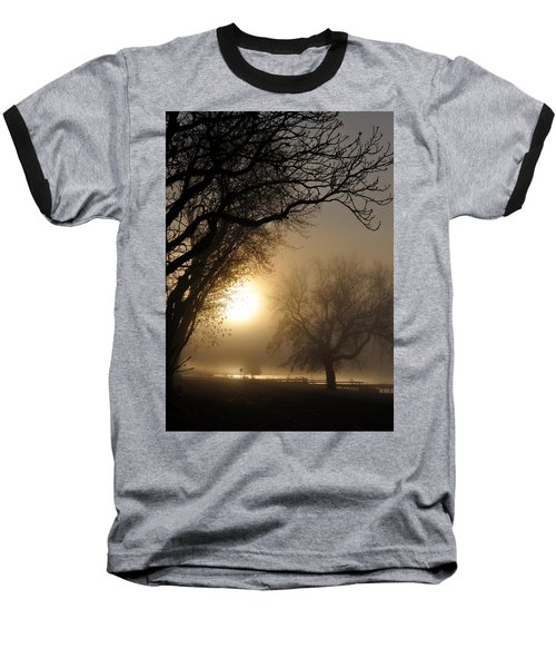 Foggy Morn Baseball T-Shirt