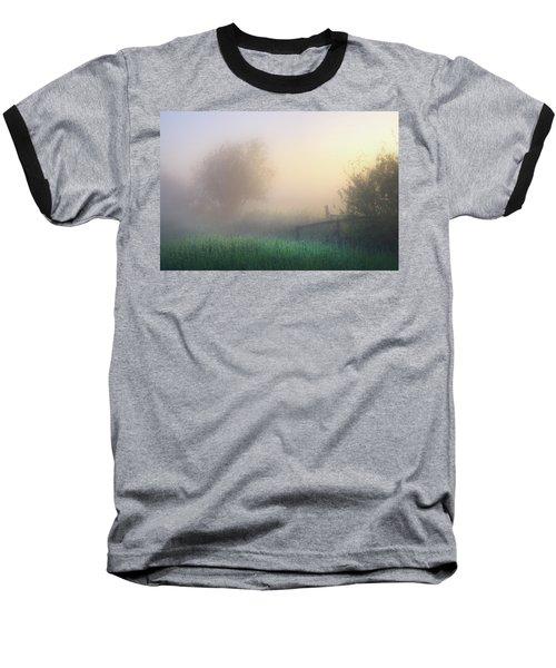 Baseball T-Shirt featuring the photograph Foggy Morning by Dan Jurak