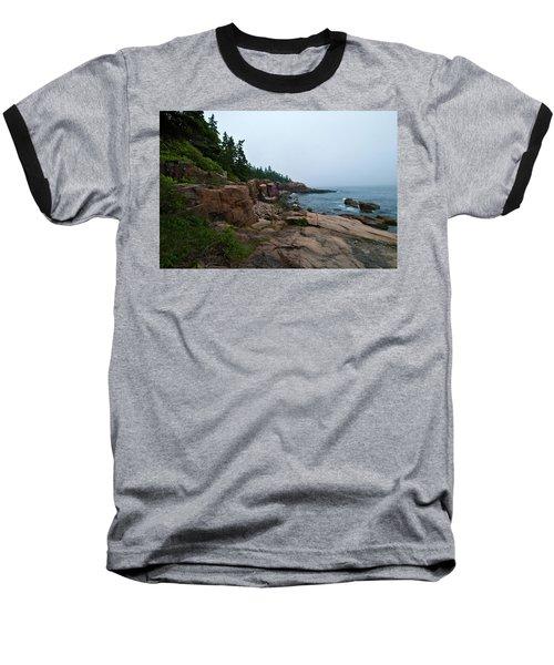 Foggy Morning  Baseball T-Shirt