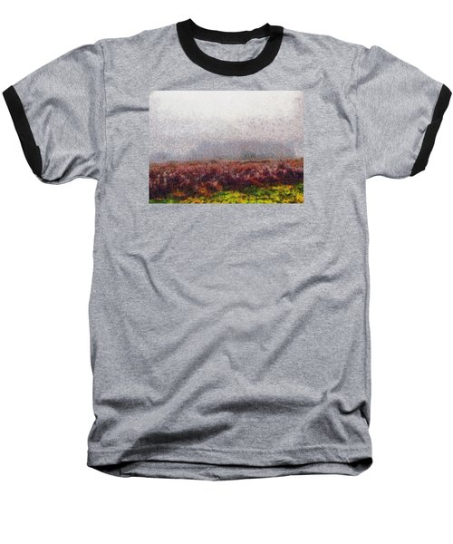 Baseball T-Shirt featuring the photograph Foggy Morning by Spyder Webb