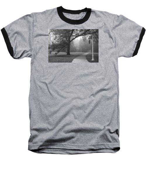 Foggy Msu Morning  Baseball T-Shirt