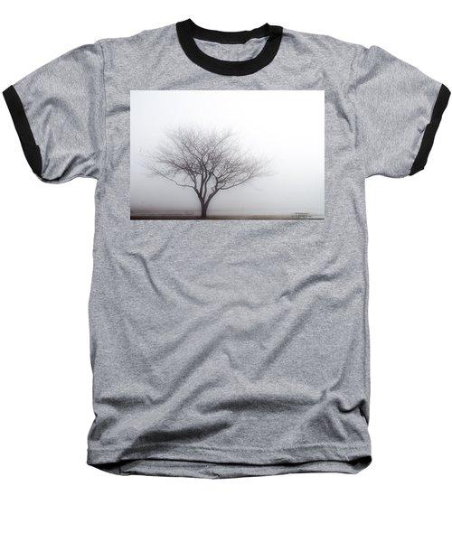 Foggy Picnic Baseball T-Shirt