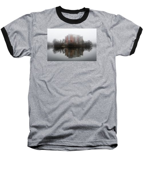 Foggy Reflection Baseball T-Shirt