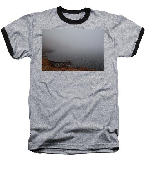 Foggy Shore Baseball T-Shirt
