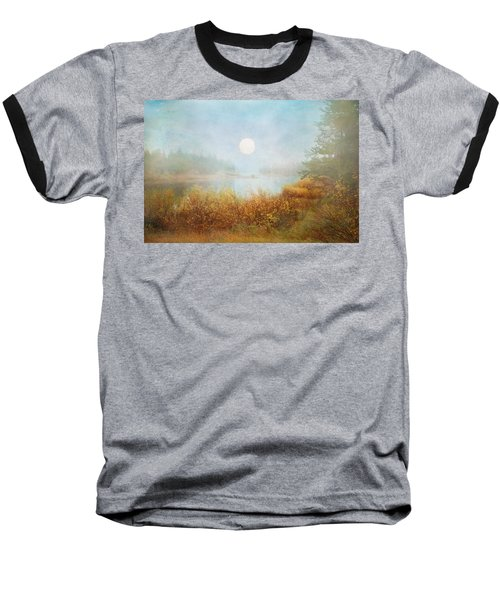 Foggy Sunrise  Baseball T-Shirt