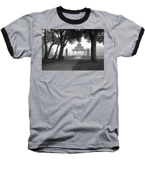 Foggy Tower Grove Baseball T-Shirt