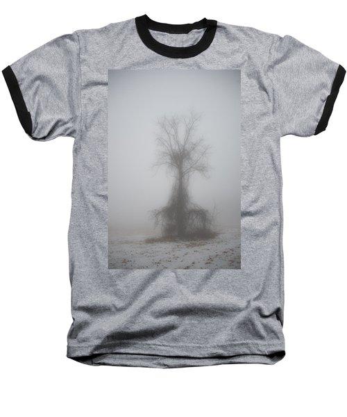 Foggy Walnut Baseball T-Shirt