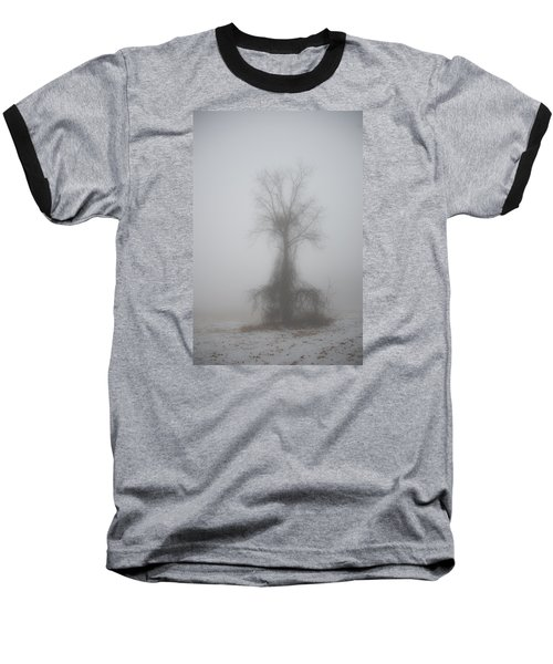 Foggy Walnut Baseball T-Shirt