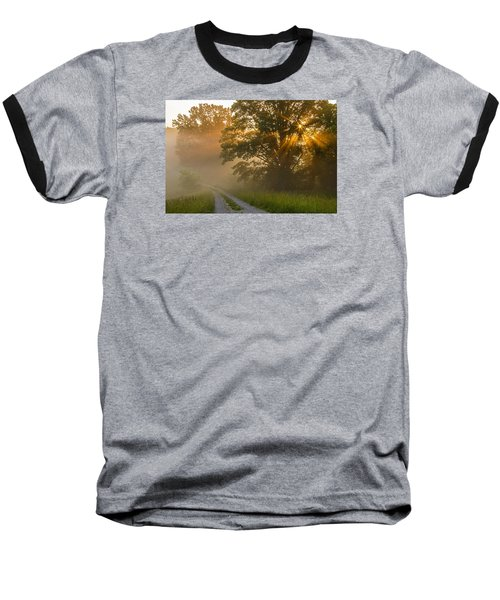 Fogy Summer Morning Baseball T-Shirt