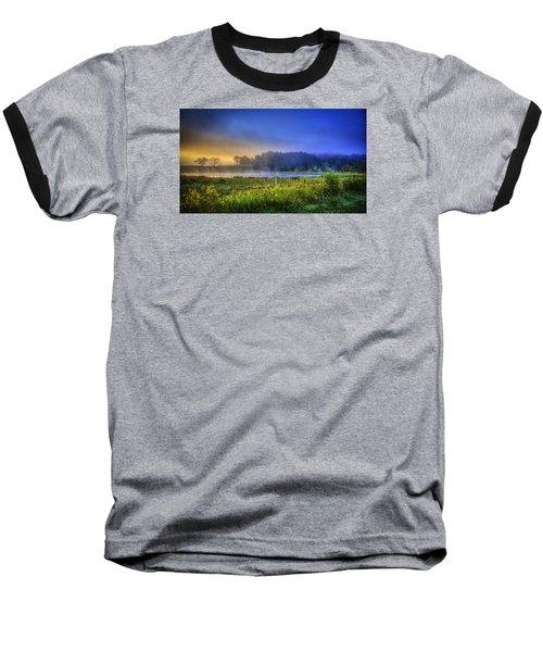 Fogy Sunrise  Baseball T-Shirt